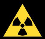 Symbole précaution radioactivité